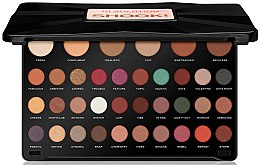 Parfumuri și produse cosmetice Paleta de farduri de ochi - Makeup Revolution 36 Shook Eyeshadow Palette