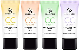 Parfumuri și produse cosmetice CC cream - Golden Rose CC Cream Color Correcting Primer