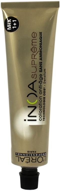 Vopsea fără amoniac pentru păr - L'Oreal Professionnel INOA Supreme Mix 1+1
