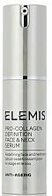 Parfumuri și produse cosmetice Ser pentru față și gât - Elemis Pro-Collagen Definition Face & Neck Serum