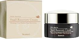 Parfumuri și produse cosmetice Cremă facială revitalizantă cu mucină de melc - Deoproce Snail Recovery Cream