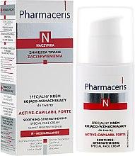 Parfumuri și produse cosmetice Cremă specială pentru îngrijirea feței, liniștitoare - Pharmaceris N Active-Capilaril Forte Cream