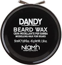Parfumuri și produse cosmetice Ceară pentru mustăți și barbă - Niamh Hairconcept Dandy Beard Wax Modelling