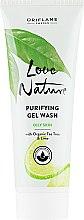 Parfumuri și produse cosmetice Gel de curățare pentru față - Oriflame Love Nature