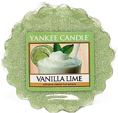 Parfumuri și produse cosmetice Ceară aromată - Yankee Candle Vanilla Lime Wax Melts