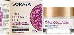 Parfumuri și produse cosmetice Cremă regenerantă cu efect antirid 60+ - Soraya Total Collagen 60+