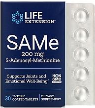 "Parfumuri și produse cosmetice Supliment alimentar ""S-adenosil-metionină"", 200 mg - Life Extension SAMe"