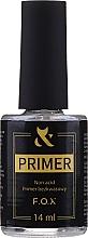 Parfumuri și produse cosmetice Bază fără acid pentru unghii - F.O.X UltraBond Non-Acid