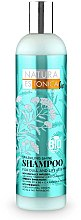 "Parfumuri și produse cosmetice Шампунь для тусклых и безжизненных волос ""Сияющий блеск"" - Natura Estonica Sparkling Shine Shampoo"