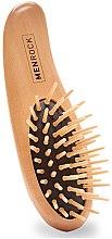Parfumuri și produse cosmetice Perie de lemn pentru barbă - Men Rock Beard Brush