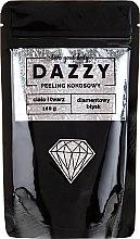 """Parfumuri și produse cosmetice Peeling de nucă de cocos pentru față și corp """"Diamond Shine"""" - Dazzy Coconut Face & Body Peeling Diamond"""