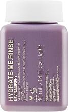 Parfumuri și produse cosmetice Balsam pentru hidratarea intensă a părului - Kevin.Murphy Hydrate-Me Rinse Conditioner (mini))