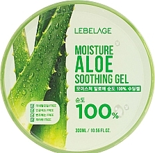 Parfumuri și produse cosmetice Gel hidratant cu aloe - Lebelage Moisture Aloe 100% Soothing Gel