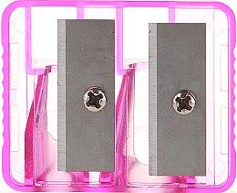 Parfumuri și produse cosmetice Ascuțitoare dublă, 2199, roz deschis - Top Choice