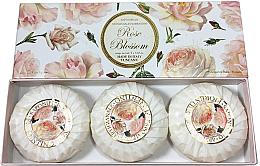 """Set săpunuri """"Trandafir"""" - Saponificio Artigianale Fiorentino Rose Blossom Soap — Imagine N2"""
