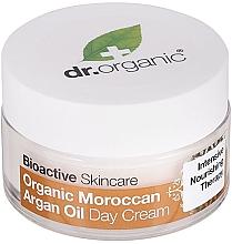 """Parfumuri și produse cosmetice Cremă de zi pentru corp """"Ulei de argan marocan"""" - Dr. Organic Bioactive Skincare Organic Moroccan Argan Oil Day Cream"""