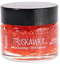 Parfumuri și produse cosmetice Скраб для губ - Mohani Strawberry Smoothing And Nouriahing Lip Scrub
