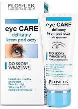 Parfumuri și produse cosmetice Cremă pentru pielea sensibilă din zona ochilor - Floslek Eye Care Mild Eye Cream For Sensitive Skin
