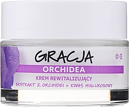 Parfumuri și produse cosmetice Cremă revitalizantă antirid cu extract de orhidee și acid hialuronic - Miraculum Gracja Orchid Revitalizing Anti-Wrinkle Day/Night Cream