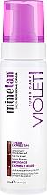 Parfumuri și produse cosmetice Spumă pentru bronzare - MineTan 1 Hour Tan Violet Self Tan Foam