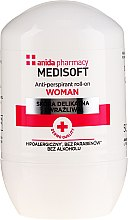 Parfumuri și produse cosmetice Antiperspirant - Anida Pharmacy Medisoft Woman Deo Roll-On
