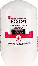 Духи, Парфюмерия, косметика Анти-перспирант - Anida Pharmacy Medisoft Woman Deo Roll-On
