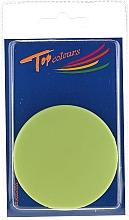 Parfumuri și produse cosmetice Oglindă cosmetică rotundă 85543, verde neon - Top Choice Colours Mirror