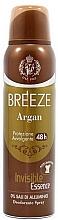 Parfumuri și produse cosmetice Breeze Deo Spray Argan - Deodorant pentru corp