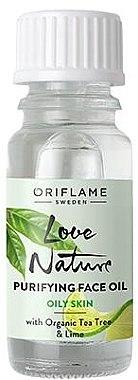Ulei de față - Oriflame Love Nature Purifyng Face Oil — Imagine N1