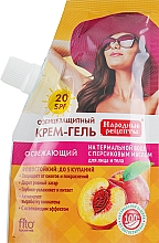 Parfumuri și produse cosmetice Cremă-gel protecție solară pentru față și corp - Fito Kosmetic Rețete tradiționale