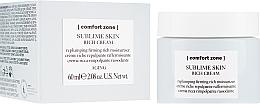Parfumuri și produse cosmetice Cremă hidratantă de față - Comfort Zone Sublime Skin Rich Cream
