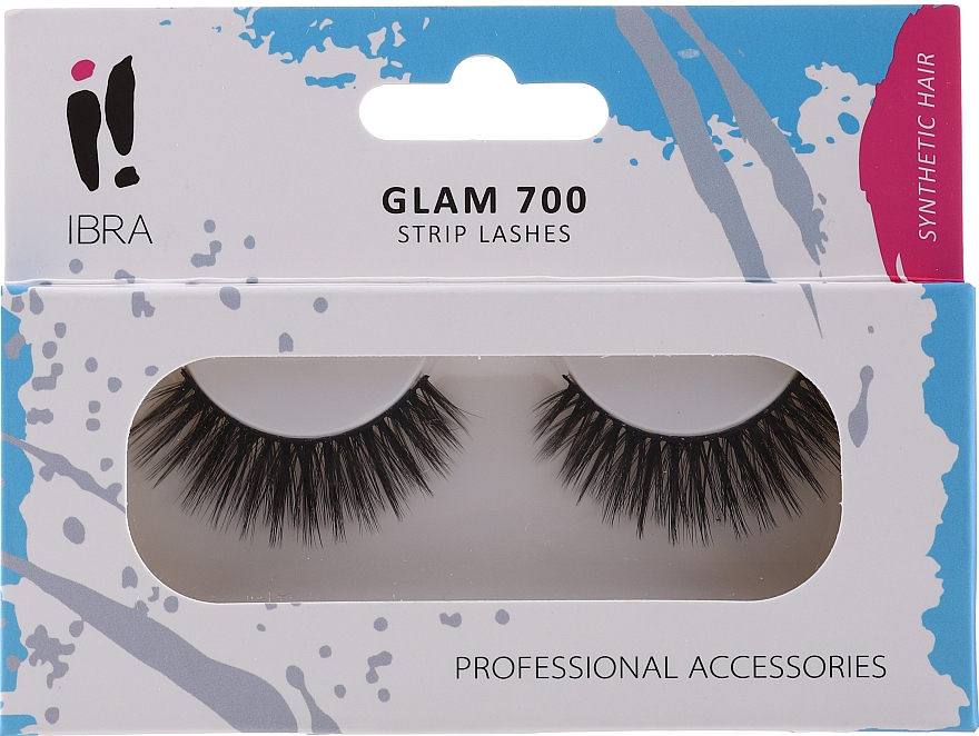 Gene false - Ibra Eyelash Glam 700 Black