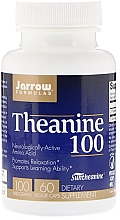 Parfumuri și produse cosmetice Teanină 100 mg - Jarrow Formulas Theanine, 100 mg