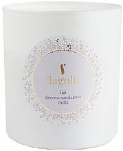 """Parfumuri și produse cosmetice Lumânare parfumată, în borcan """"Smochin, lemn de santal, violetă"""" - Flagolie Soy Candle"""