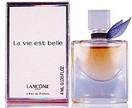 Parfumuri și produse cosmetice Lancome La Vie Est Belle - Apă de parfum (mini)