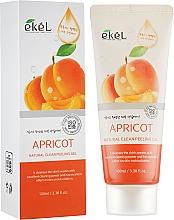 "Parfumuri și produse cosmetice Peeling-gel pentru față ""Caise"" - Ekel Apricot Natural Clean Peeling Gel"