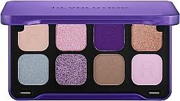 Духи, Парфюмерия, косметика Палетка теней для век, 8 цветов - Makeup Revolution Forever Flawless Dynamic