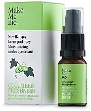 Parfumuri și produse cosmetice Крем для глаз с витамином Е и экстрактом огурца - Make Me BIO