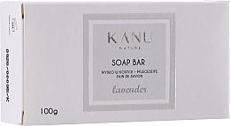 Parfumuri și produse cosmetice Mydło w kostce do rąk i ciała Lawenda - Kanu Nature Soap Bar Lavender