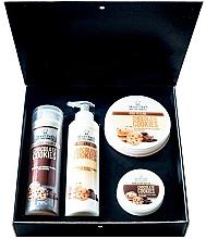 Parfumuri și produse cosmetice Set - Hristina Cosmetics Stani Chef's Chocolate Cookies (b/lot/250ml + sh/gel/250ml + b/scrub/250ml + h/cr/100ml)