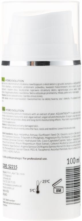 Ser puternic hidratant cu pere și rubarbă - APIS Professional Hydro Evolution Extremely Moisturizing Serum — Imagine N2