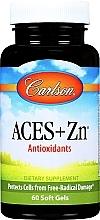 """Parfumuri și produse cosmetice Supliment alimentar """"Antioxidant"""" - Carlson Labs Aces + Zn Antioxidant"""