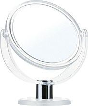 Parfumuri și produse cosmetice Oglindă cosmetică, 9275, albă, 12 cm - Donegal Mirror