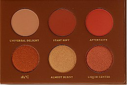 Parfumuri și produse cosmetice Paletă farduri de ochi - Zoeva Caramel Melange Voyager