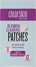 Parfumuri și produse cosmetice Patch-uri pentru față - Avon Clearskin Blemish Clearing Patches