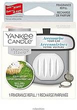Parfumuri și produse cosmetice Aromatizator auto (Rezervă) - Yankee Candle Charming Scents Refill Clean Cotton