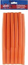 Parfumuri și produse cosmetice Bigudiuri 16/240 mm, portocaliu - Ronney