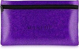 """Parfumuri și produse cosmetice Trusă cosmetică """"Glitter Pouch"""", 22x13cm, violetă - MakeUp"""