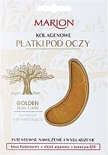 Parfumuri și produse cosmetice Patch-uri sub ochi cu colagen - Marion Golden Skin Care Collagens Flakes Eye