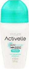 Parfumuri și produse cosmetice Deodorant roll-on 48h - Oriflame Activelle Actiboost Fresh